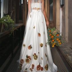 voile de mariage broderies fleurs multicolores