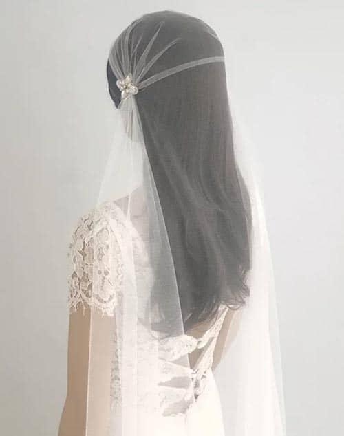 voile de mariage style juliette