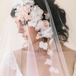 voile de mariee fleurs