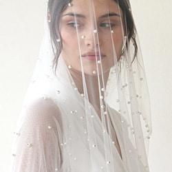 j voile de mariee perles
