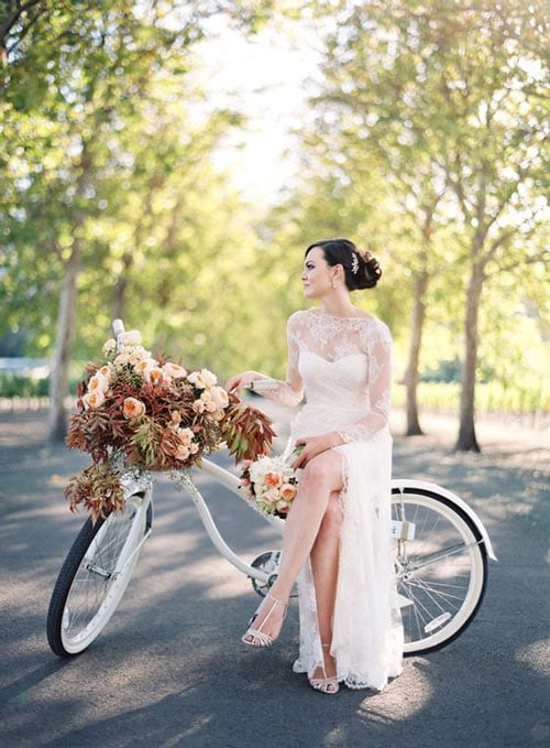 bicyclette mariage
