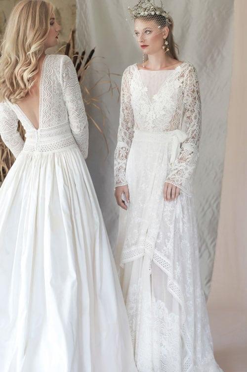 robe de mariee en dentelle manon pascual 2019