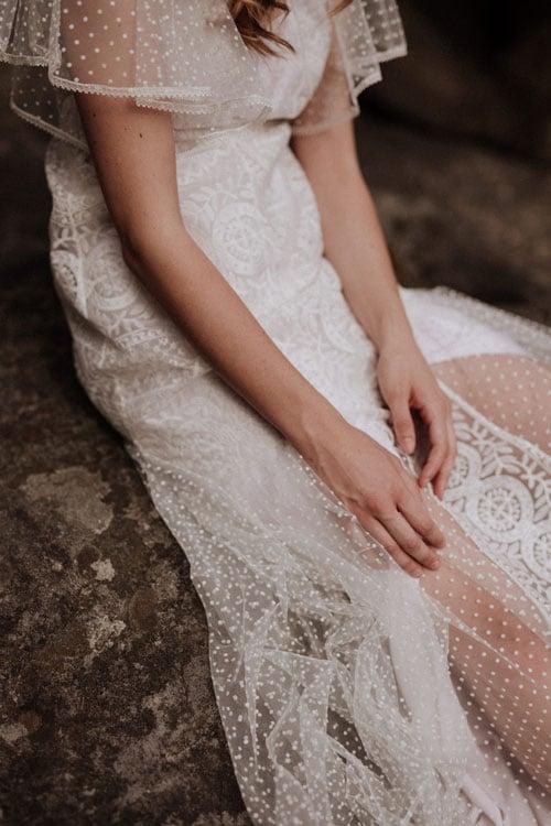 robe de mariee en dentelle 2019