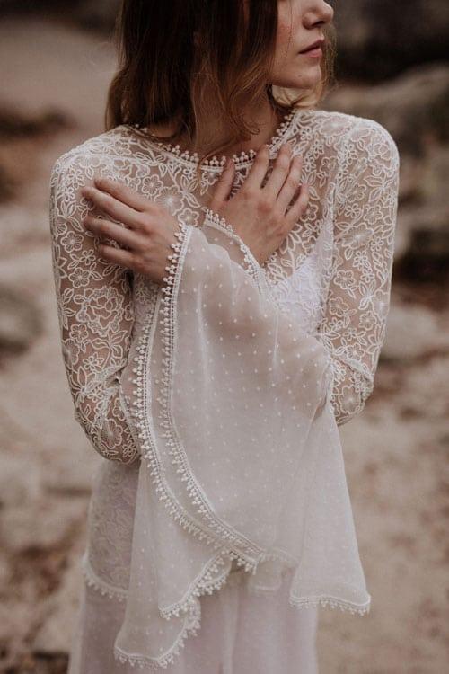 robes de mariée 2019 en dentelle elodie courtat