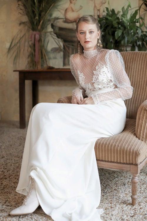 collection mariage 2019 robes de mariee manon pascual