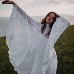 a robe de mariee vintage grecque
