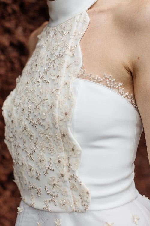 robe de mariee courte elisa ness 2019