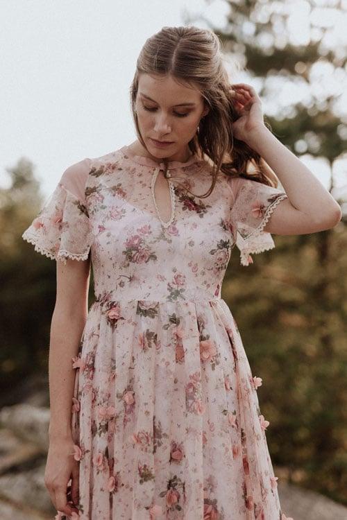 robes de mariee a fleurs elodie courtat 2019