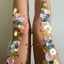 collants sequins