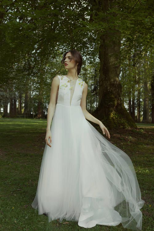 collection mariage 2019 robe adelie metayer