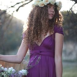 robe demoiselle honneur couleur parme