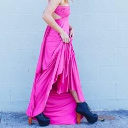 robe de demoiselle honneur