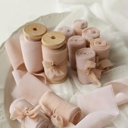 ruban soie rose