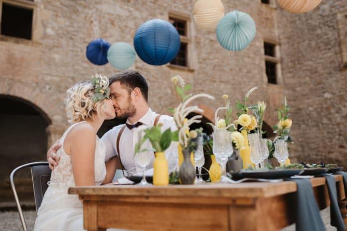Inspiration mariage dans un chateau