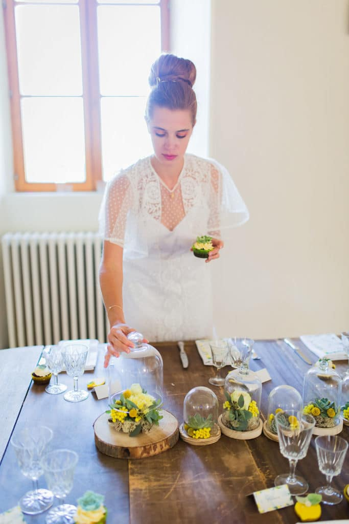 shooting inspiration mariage jaune
