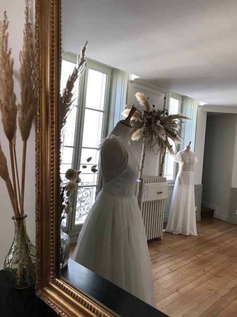 Blanche Showroom de la mariée