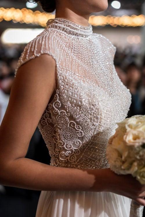 Robe Alessandra Rinaudo defilé printemps mariage
