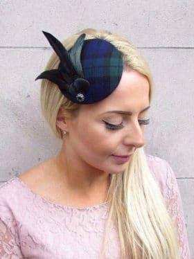 chapeau bibi a carreaux ecossais