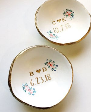 bol ceramique pour alliances