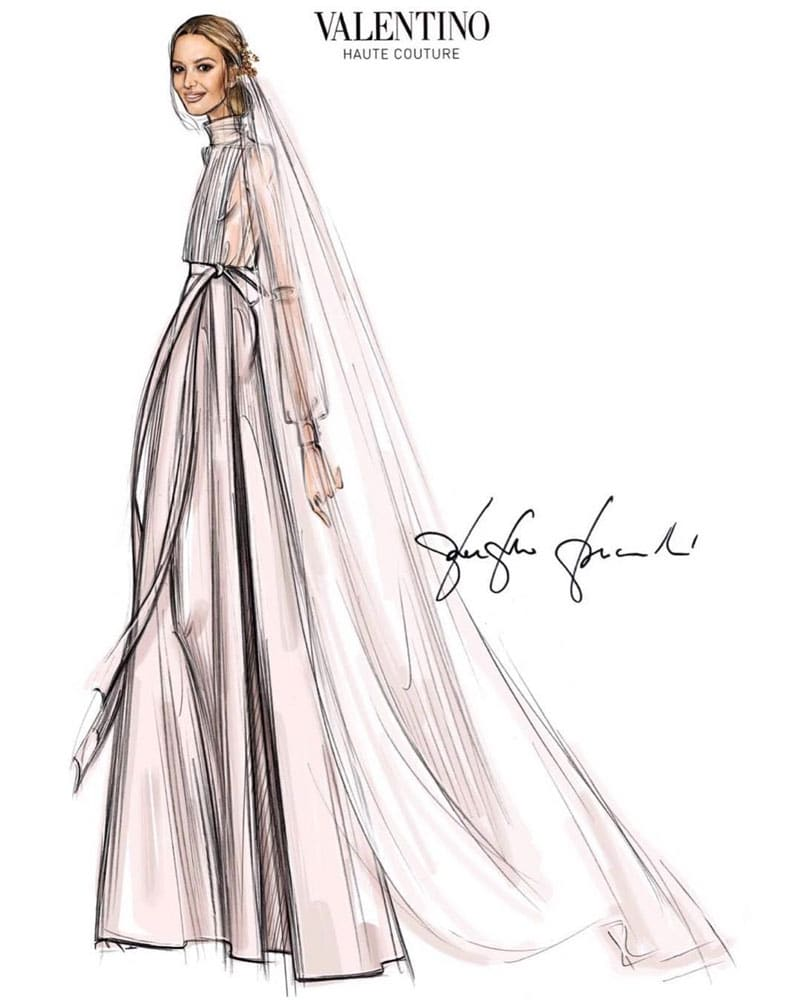 robe de mariee marta ortega fille du fondateur de zara