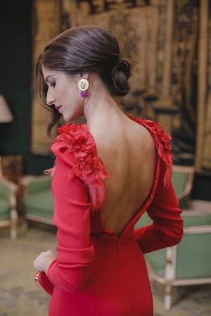 robe invitée de mariage corail