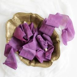 ruban de soie ultra violet pour bouquet