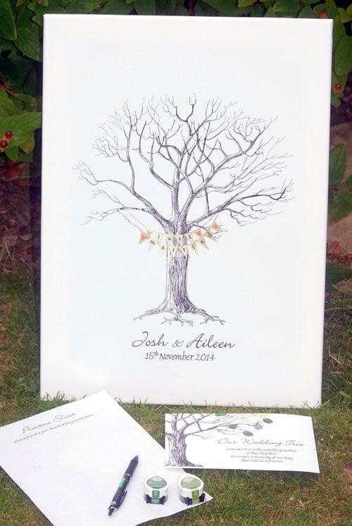 arbre a empreintes mariage