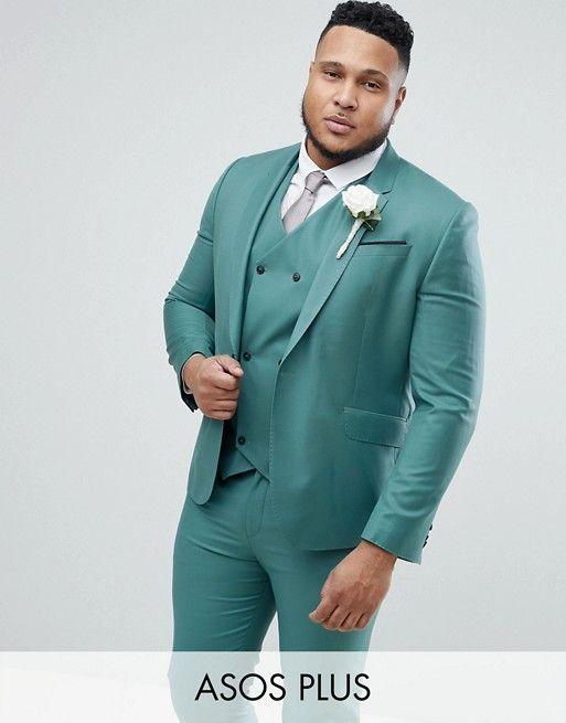 costume de mariage vert clair grande taille
