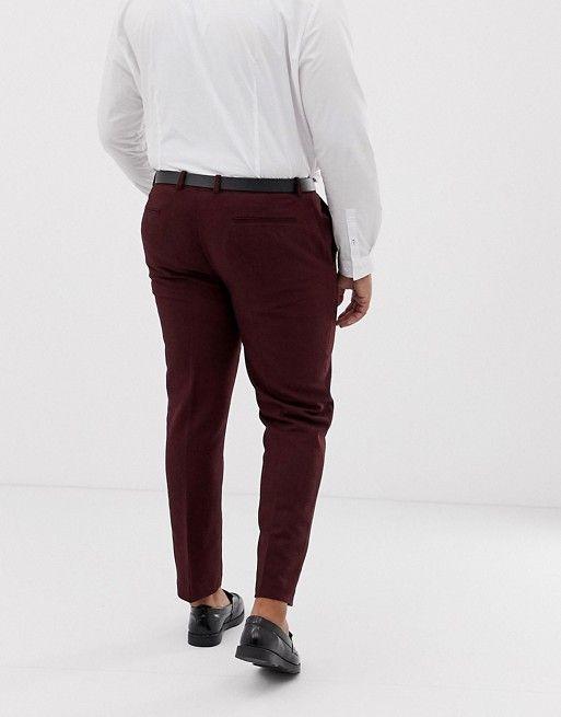 pantalon grande taille homme pour mariage