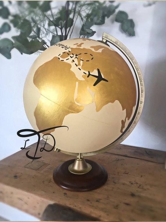 urne en forme de globe mariage