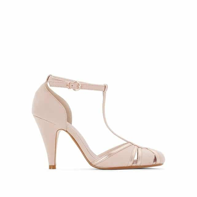 chaussure de mariage nude salomee