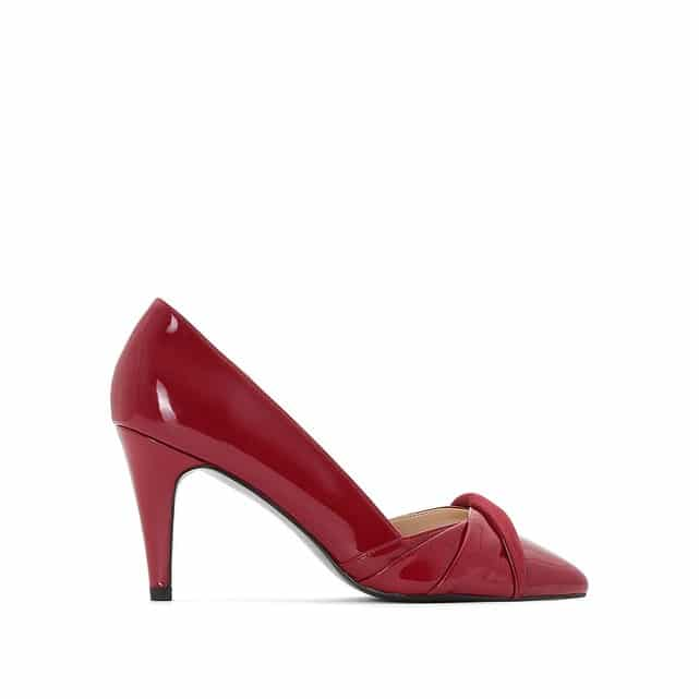 chaussure de marige rouqge laquee
