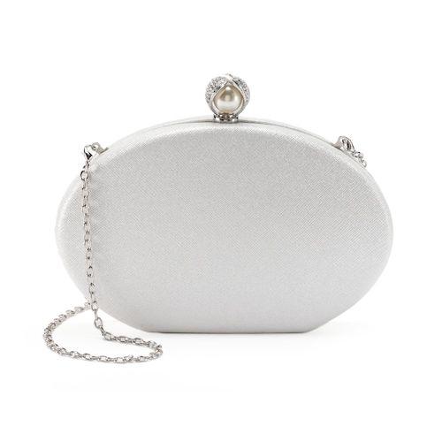 minaudiere mariage petit sac porte monnaie blanc