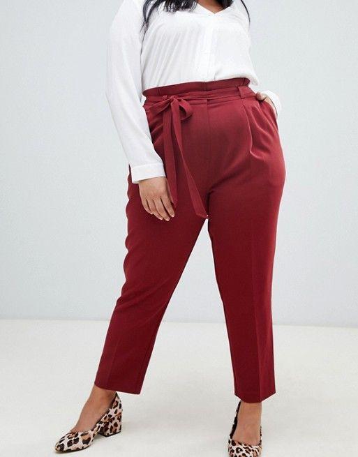 pantalon de mariage pour femme ronde bordeaux
