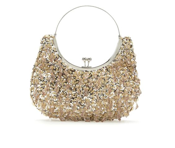 sac pour mariage or strass