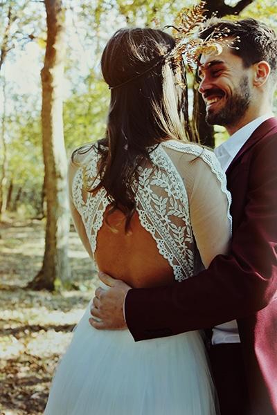 Shooting inspiration mariage 2019 - MARIONS NOUS DANS LES BOIS-MATHILDE_ST