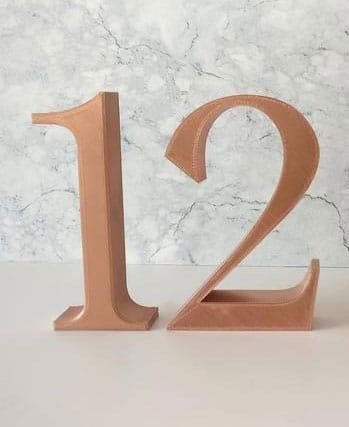 numero de table de mariage
