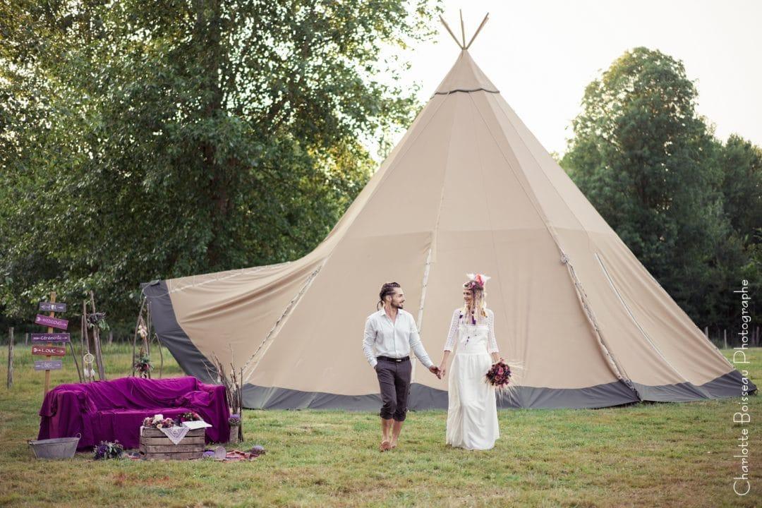 TOURS2LOCS: La location de yourtes, tipis et tentes lodges pour votre mariage