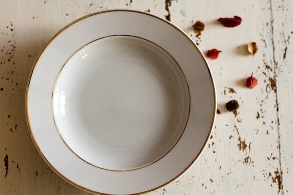 vaisselle vintage pour mariage