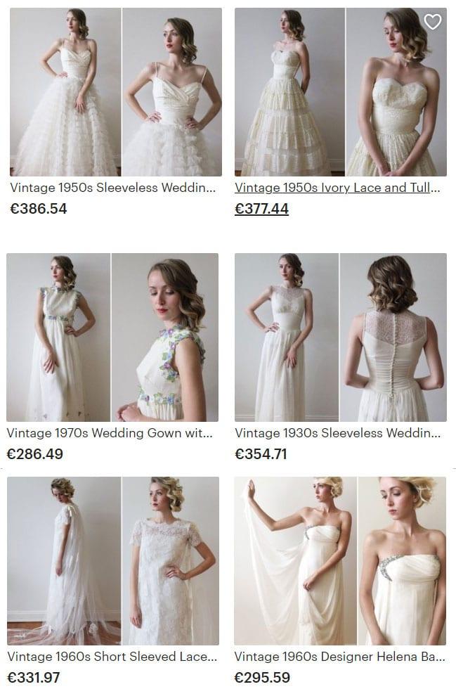 robe-de-mariee-vintage-etsy