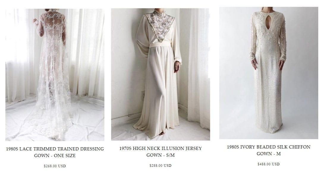 robe de mariee vintage occasion