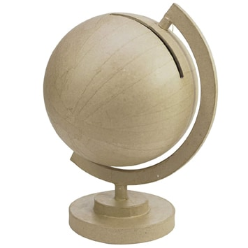 urne mariage globe terrestre