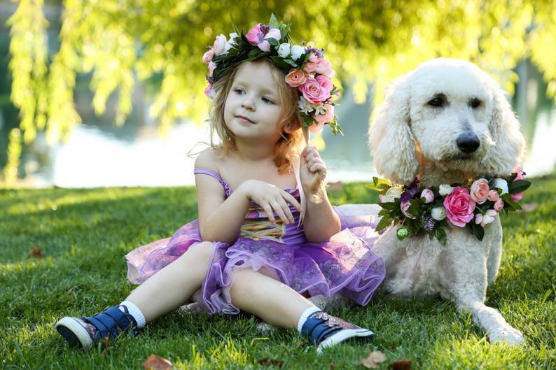 collier-chien-fleurs-mariage