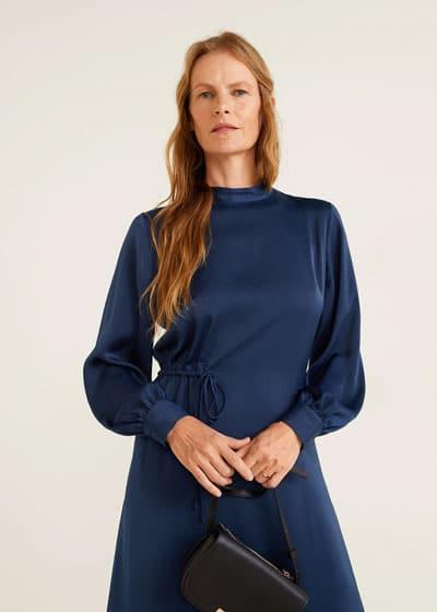 robe-invitee-de-mariage-bleu-marine