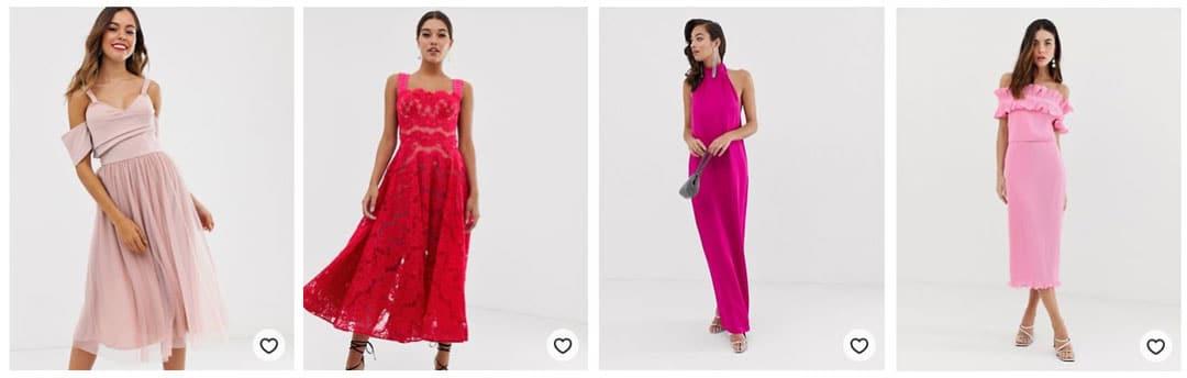 robe-invitee-de-mariage-rose-vif