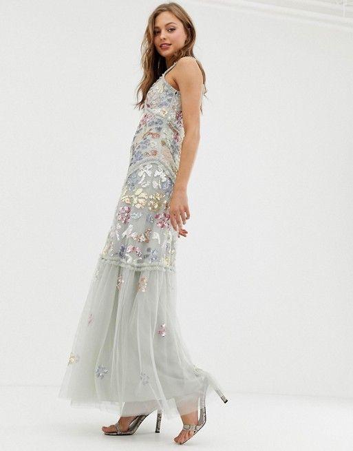 robe longue boheme pour mariage ete