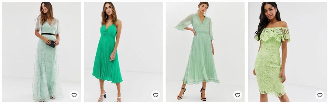 tenue-invitée-de-mariage-verte