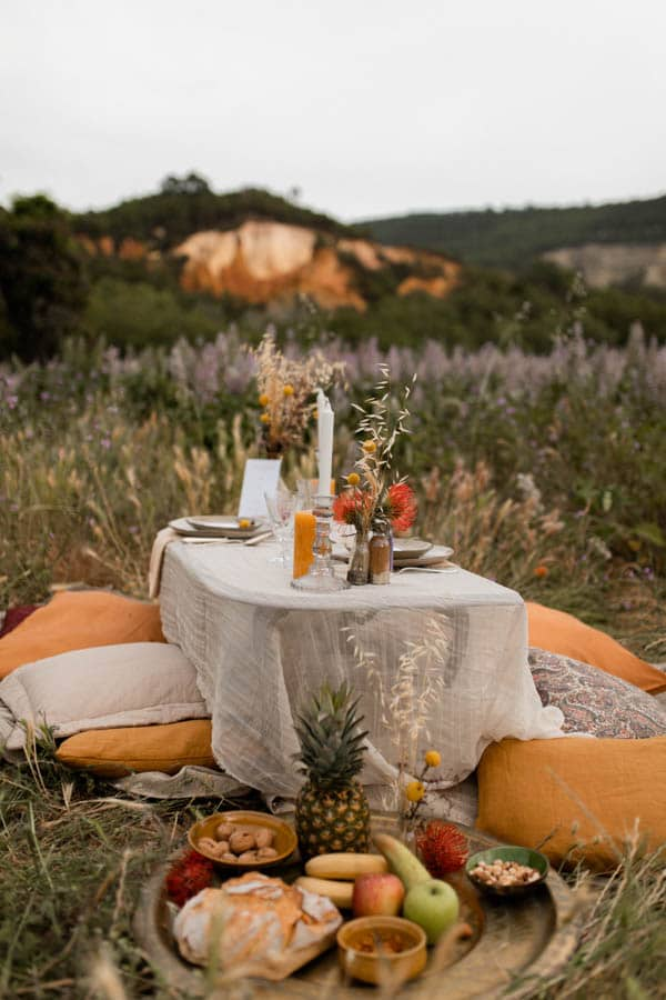 table mariage colorado