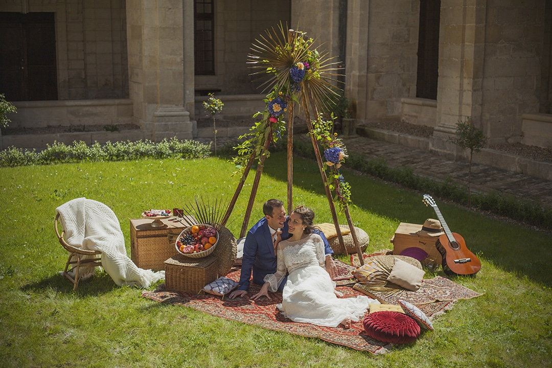 Inspiration mariage Gipsy chic