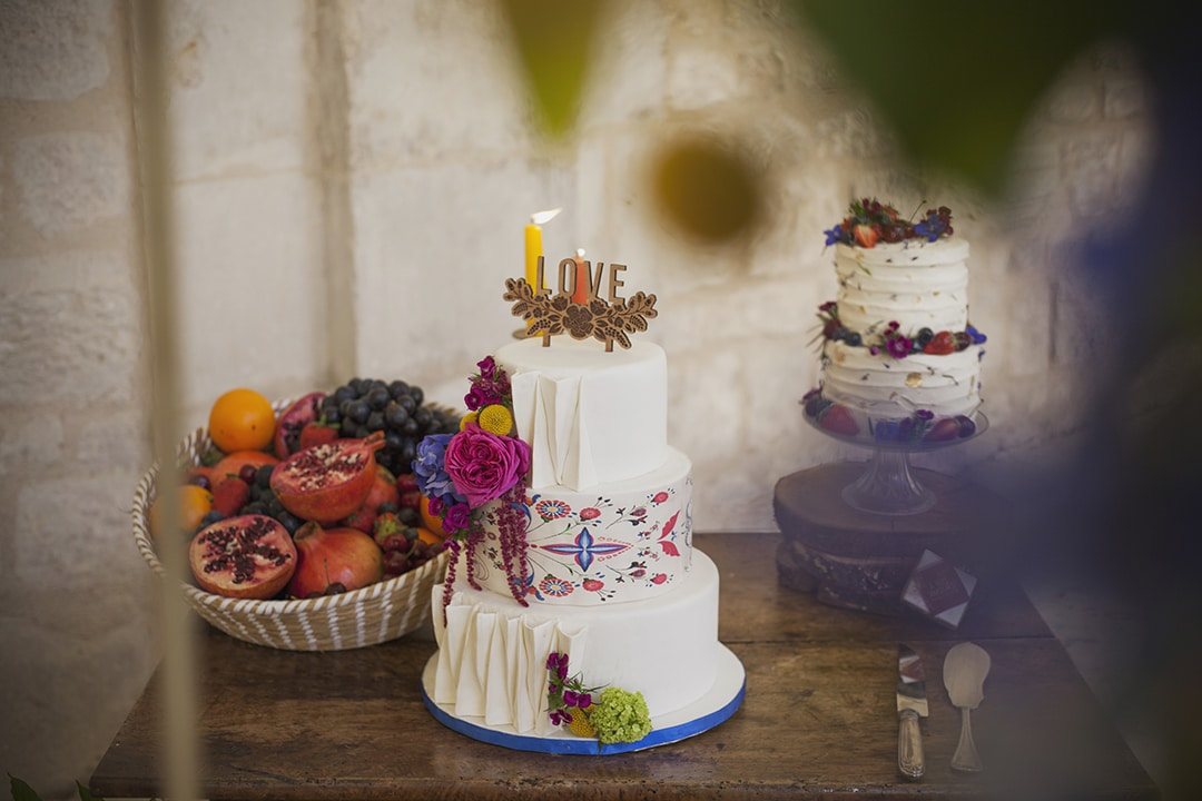 Inspiration cake Gipsy chic